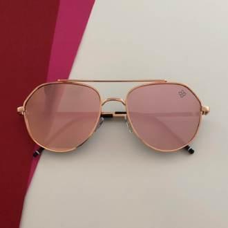 Óculos de Sol Rosé Espelhado