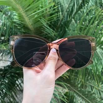 saline.com.br oculos de sol sophia marrom transparente