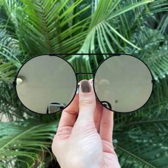 saline.com.br oculos de sol louise preto espelhado