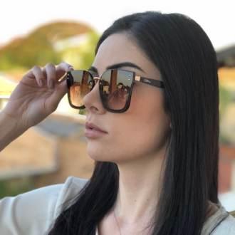 Óculos de Sol Luiza Marrom
