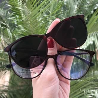 saline.com.br oculos de sol 2 em 1 gatinho marrom