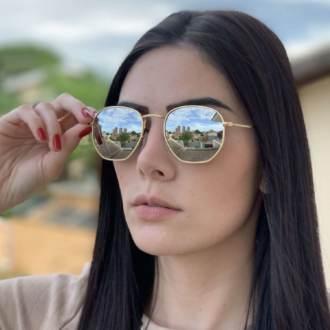 saline.com.br oculos de sol hexagonal espelhado 1