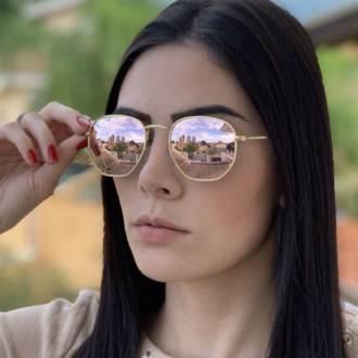 saline.com.br oculos de sol hexagonal marrom degrade copia