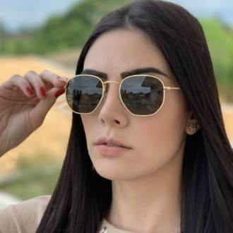 saline.com.br oculos de sol hexagonal verde 1