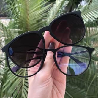 saline.com.br oculos de sol 2 em 1 preto fosco com lente amarela 3