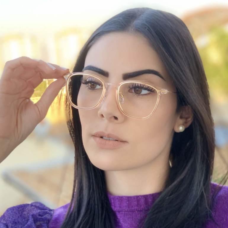 safine com br oculos de grau quadrado rose duda 2