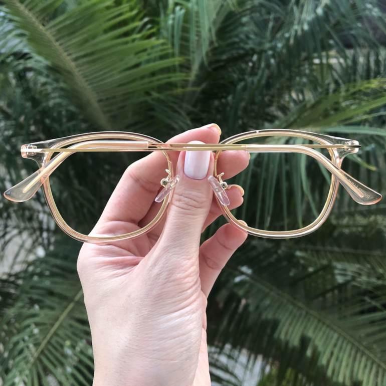 safine com br oculos de grau quadrado rose duda 4