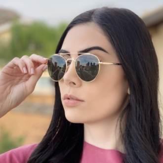 saline.com.br oculos de sol aviador tifany dourado com verde 1