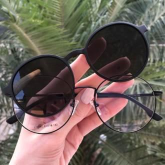 safine com br oculos 2 em 1 redondo preto fosco lolo 6