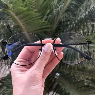 safine com br oculos 2 em 1 redondo preto fosco lolo 7