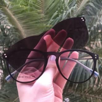 safine com br oculos 2 em 1 redondo preto fosco rafa 7