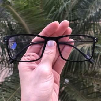 safine com br oculos 2 em 1 retangular preto fosco new 1