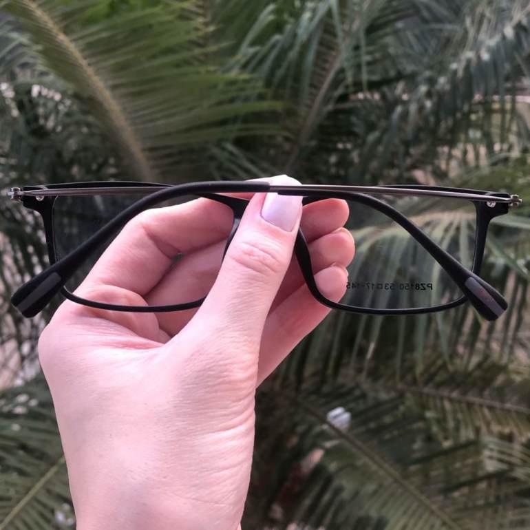 safine com br oculos 2 em 1 retangular preto fosco new 2