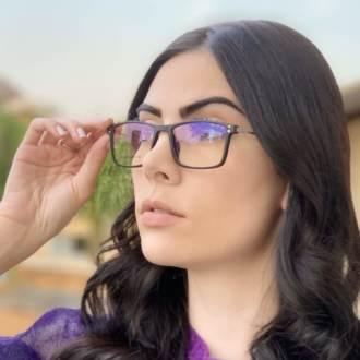 safine com br oculos 2 em 1 retangular preto fosco new 4