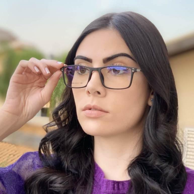 safine com br oculos 2 em 1 retangular preto fosco new 5