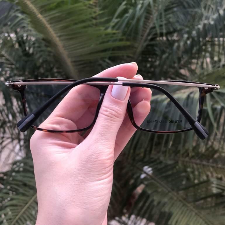 safine com br oculos 2 em 1 retangular tartaruga new 2