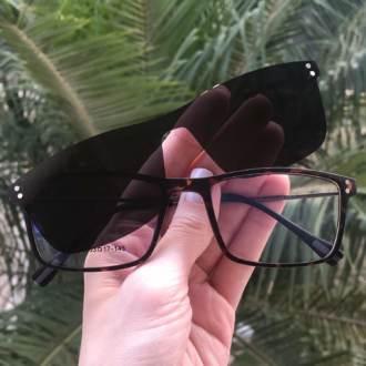 safine com br oculos 2 em 1 retangular tartaruga new
