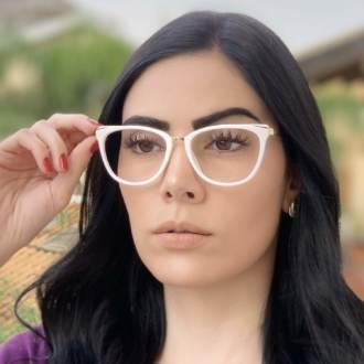 safine com br oculos de grau gatinho branco fran 1