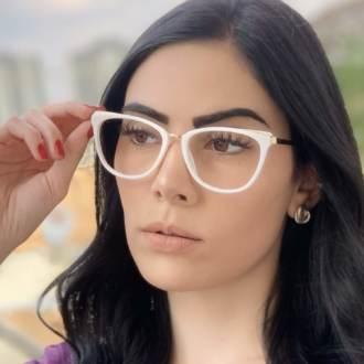 safine com br oculos de grau gatinho branco fran 2