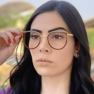 safine com br oculos de grau gatinho marrom cecilia 3