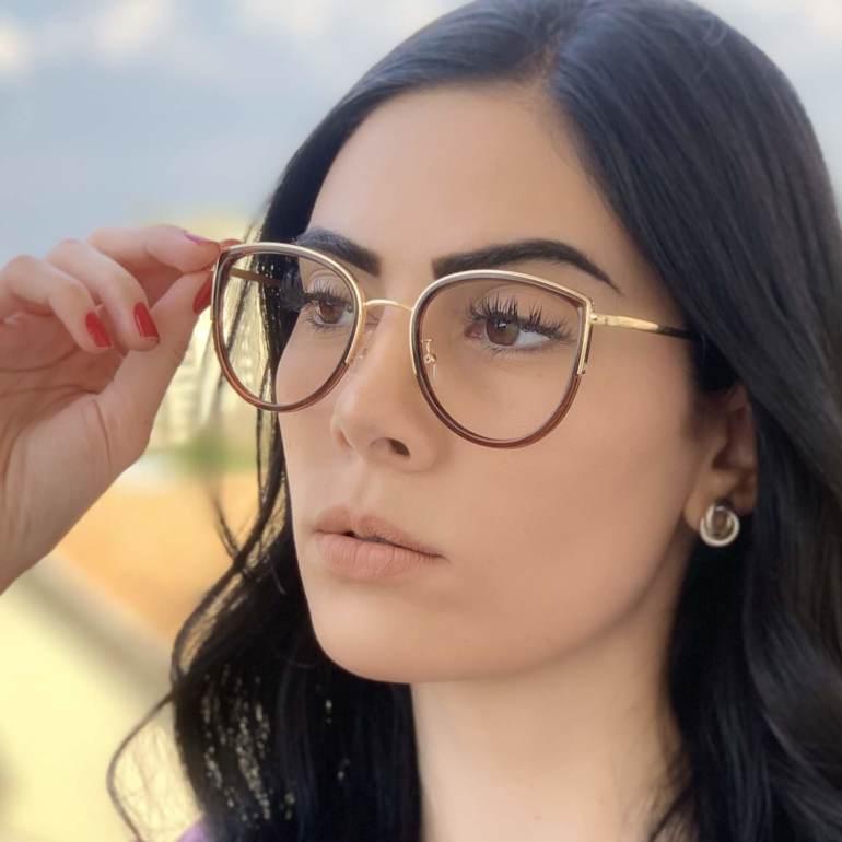safine com br oculos de grau gatinho marrom cecilia 4