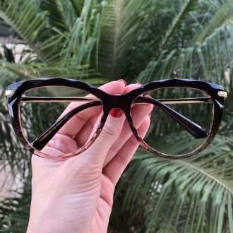 safine com br oculos de grau gatinho marrom fabi 2 0