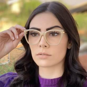safine com br oculos de grau gatinho nude bela 1