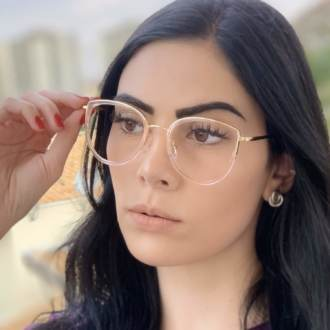 safine com br oculos de grau gatinho rose cecilia 1