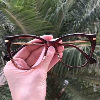 safine com br oculos de grau gatinho vinho transparente bela
