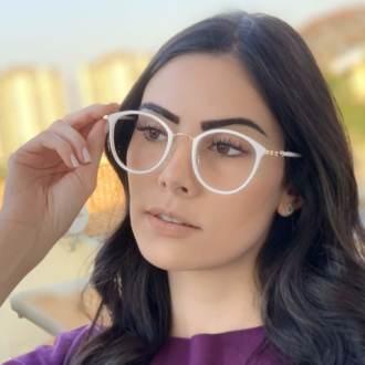 safine com br oculos de grau redondo branco bru 2