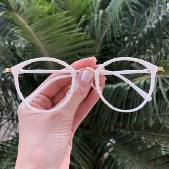 safine com br oculos de grau redondo branco bru 3