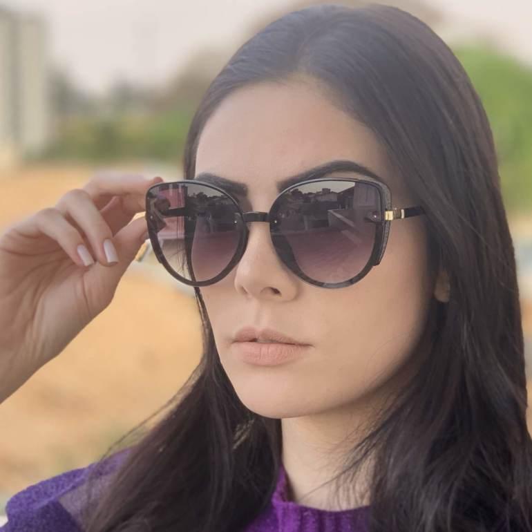 safine com br oculos de sol gatinho preto amy 2