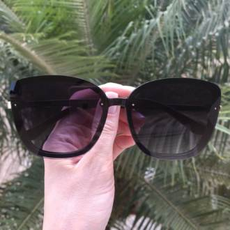safine com br oculos de sol quadrado preto renata