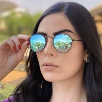 safine com br oculos de sol redondo espelhado laura 2