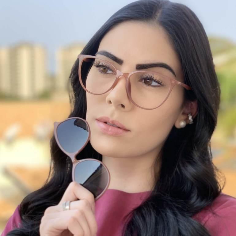 safine com br oculos 2 em 1 gatinho rosa 5