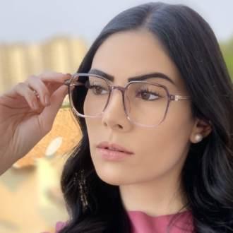 safine com br oculos de grau quadrado lilas mage 2