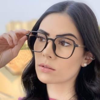 safine com br oculos de grau quadrado preto mage 4