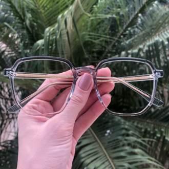 safine com br oculos de grau quadrado verde mage