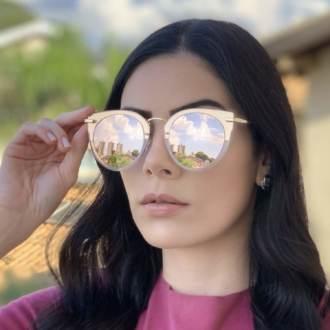 safine com br oculos de sol gatinho espelhado lidi 1