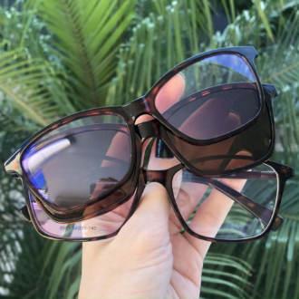 safine com br oculos 3 em 1 retangular tartaruga sarah anti blue 2