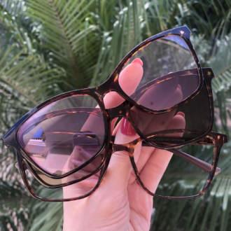 safine com br oculos de grau 3 em 1 gatinho tartaruga vivi anti blue 6