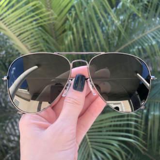 safine com br oculos de sol aviador verde isa 3
