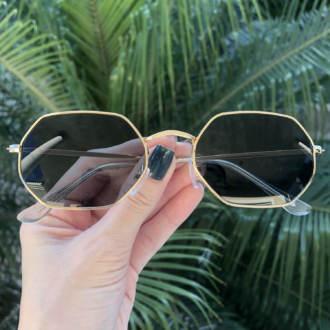 safine com br oculos de sol hexagonal marrom luci copia