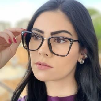 safine com br oculos de grau quadrado preto paloma 2
