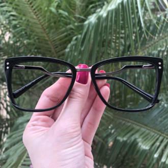 safine com br oculos de grau quadrado preto paloma 3