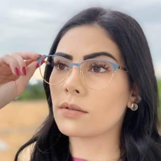safine com br oculos de grau redondo azul lizzy 2