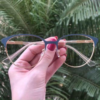 safine com br oculos de grau redondo azul lizzy 3