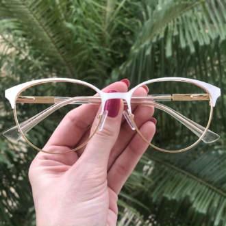 safine com br oculos de grau redondo branco lizzy 2