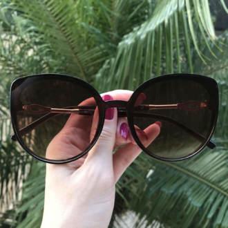 safine com br oculos de sol gatinho marrom ingrid