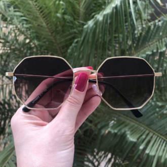 safine com br oculos de sol quadrado marrom degrade elisa 4 0 3